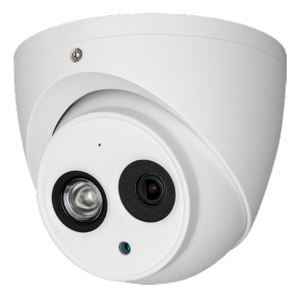 "Cámara domo HDCVI X-Security 1/3"" 4.1 Megapixel CMOS Lente 3.6 mm / Mic. interno"