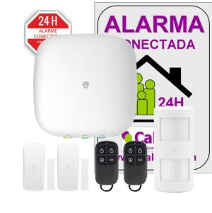 Alarma  Smart Home  H4. Panel con módulo Wifi y GSM/GPRS