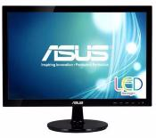 MONITOR ASUS 18.5IN VS197DE LED SLIM VGA NEGRO