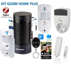 ALARMA SEGURIDAD  KIT Q3200 HOME PLUS, Alarma Serie Q - Hogar inteligente.