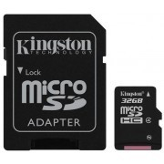 MEMORIA KINGSTON MICRO SDC4/32GB+ ADP