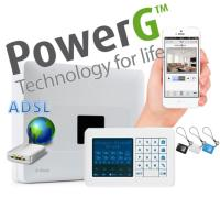 BUNDLE ADSL PowerMaster-33 (Panel + PLink3 + Teclado)