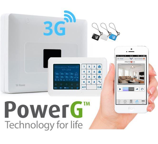 NUEVO BUNDLE 3G PowerMaster-33E (Panel + WCDMA-3G PG2 + Teclado)