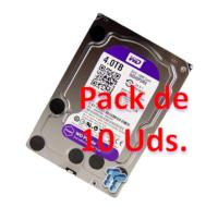 PACK 10 Unidades WD PURPLE 4TB